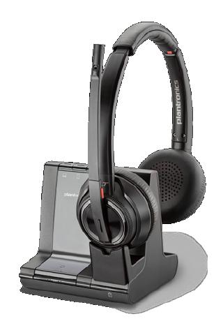 Grafik Headset Loesung plantronics Savi-8200-Serie