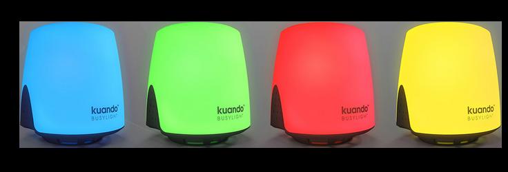 Kuando_Busylight-Omega_Präsenzanzeige