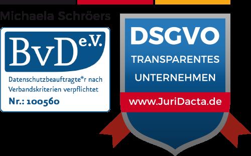 DSGVO Siegel-JuriDacta